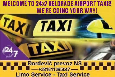 Transport putnika - Srbija: Belgrade Airport - Taxi transfer Serbia,car rental with driver