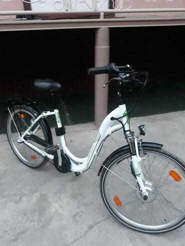 """Продается элетркический велосипед """"zundapp green series """" в идеальном"""