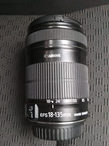 Продаю объектив canon 18-135 в Бишкек