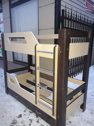 продаю новый 2х ярусный кровать из российского ламината 0708806080 ват в Бишкек
