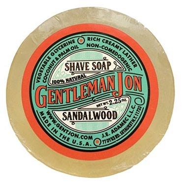 Мыло для бритья Gentleman Jon 100% натуральное в Бишкек