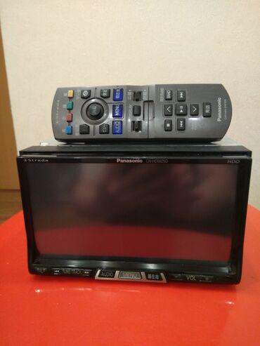 Магнитолы в Кыргызстан: Продаю автомагнитолу Panasonic CN-HDS 62 TD, двухдиновый, сенсорный, с