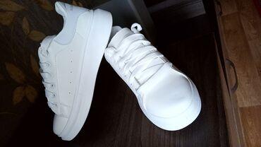 Совершенно Новые белые кеды 40 размер! ни разу не ношенные!!!!