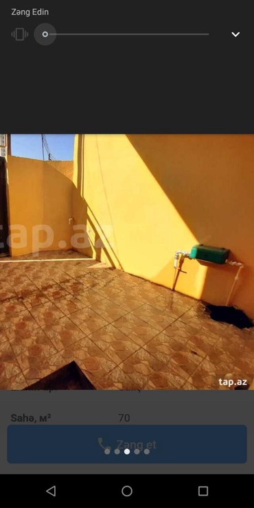 Daşınmaz əmlak Xırdalanda: Xirdalanin girâcâyindâ 3 otaqli tâmirli hâyât evi tâcili satilir
