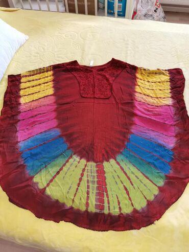 Velic da - Srbija: Indijsko platno,visenamenska odeca (tunika, haljina ili esarpa za