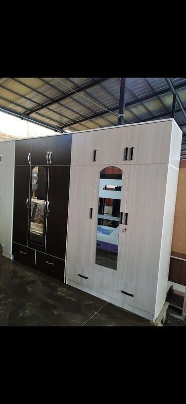 bu shifoner в Кыргызстан: Новый трехдверный шкаф из российкого материала ЛДСПВ наличии есть