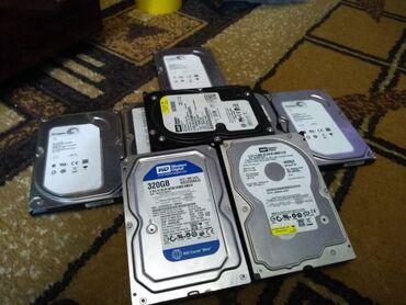 Жёсткие диски 200гб 3 штуки по 250 с( статус тревога ) 160 Гб 1 штука