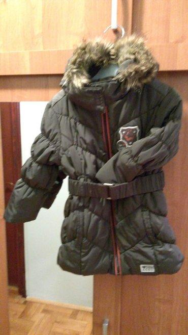 Tom tailor jakna za devojčice br. 92/98 duža,strukirana. Kao - Novi Sad