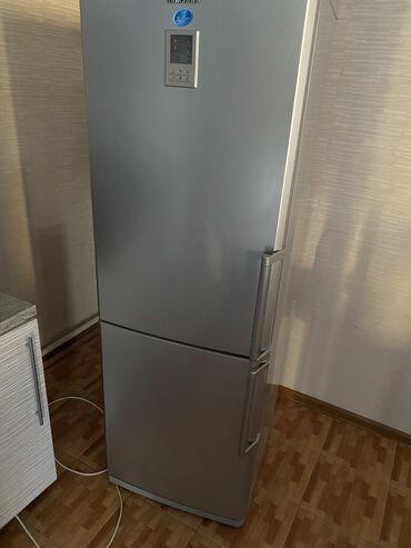 Ингалятор бишкек купить - Кыргызстан: Б/у Двухкамерный Серый холодильник Samsung
