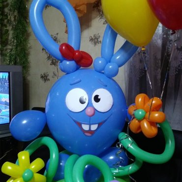 Крош и его друзья из шаров!!!! в Лебединовка