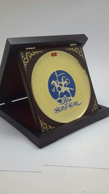 ПлакеткаПо заказу мы разработали плакетки для Чемпионата Азии по Дзюдо