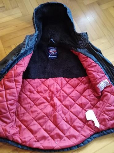 Dečije jakne i kaputi - Vrsac: Zimska jakna za dečake! Izuzetno topla! Broj 128. Dužina 54cm, rukavi