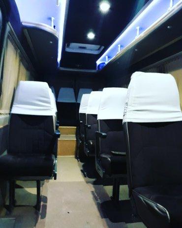 Бус на заказ  18 мест салон чистый удобный и комфортный  в Боконбаево