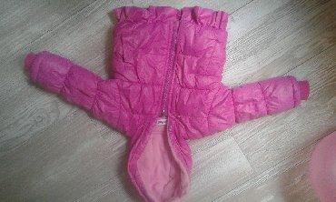 Zimske-kape-o - Srbija: Topla zimska jakna za bebu devojčicu, veličina 1, za uzrast do 6
