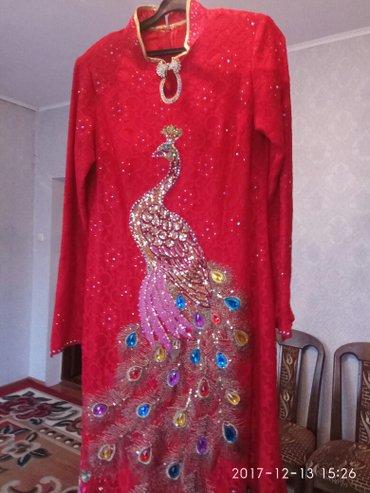 """Свадеб платье надевали всего 1раз, сшит по заказу, 48""""размер,ручная ра в Лебединовка"""