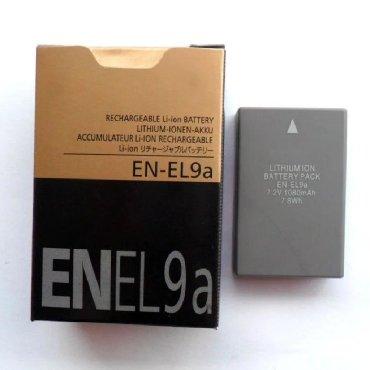 Батарея для камер Nikon D60 D5000 D40X D40 D3X D3000 D301080 мАч