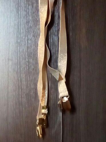 Подтяжки на брюки цвет золото красивые