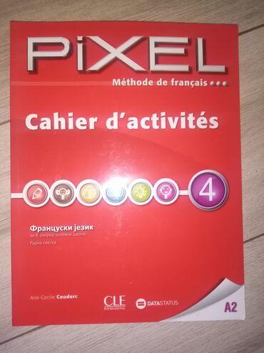 Knjige, časopisi, CD i DVD | Smederevska Palanka: Pixel- Radna sveska iz francuskog za osmi razred osnovne škole