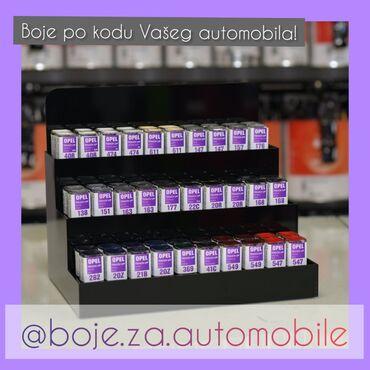 Boje i lakovi - Beograd: Touch Up!-Boje po KODU Vaseg automobila !!(svi modeli i