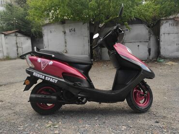 продаю авто в рассрочку бишкек в Кыргызстан: Продаю японский четырехтактный скутер HONDA SPACY 125 кубиков, в