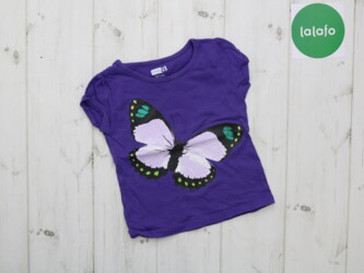 Детская футболка с бабочкой Crazy 8. возраст 18-24 мес    Длина: 33 см