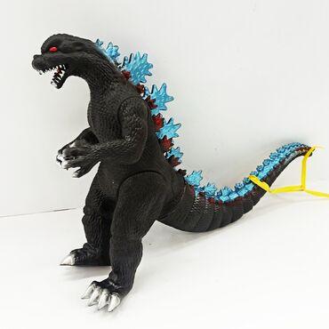 Игрушки - Кыргызстан: Годзилла резиновая игрушка.Самый популярный галвный персонаж
