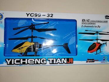 1990 dinLeteći helikopter sa daljinskim upravljačemHelikopter YC99-32