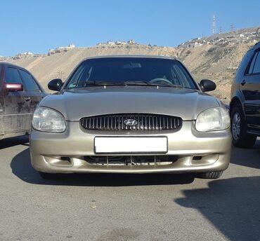 автомобиль на свадьбу в Азербайджан: Hyundai Sonata 2 л. 2000 | 306354 км