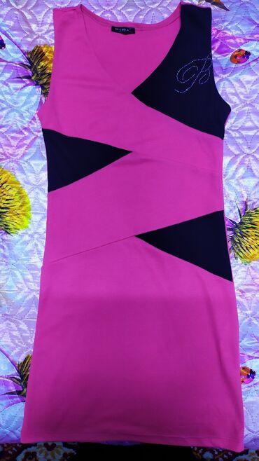 Платье 200 сом. Красивая расцветка. Почти новое, не раз так и не