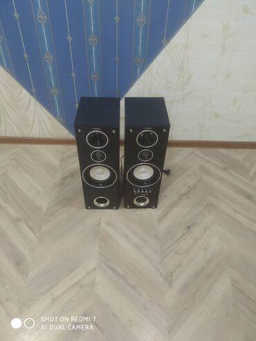 продаю квартира бишкек в Кыргызстан: Продаю колонки в хорошем состоянии. Встроен mp3 плеер с радио. Размер