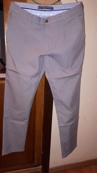 Muske pantalone ZARA MAN Made in Turkey, sa elastinom ,eur 32, kao - Belgrade