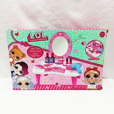 Детский косметический столик Лол - обалденный комплект для юной