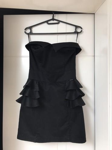KATRIN mala crna top haljina. Veličina 38. Odlično stanje, par puta - Belgrade
