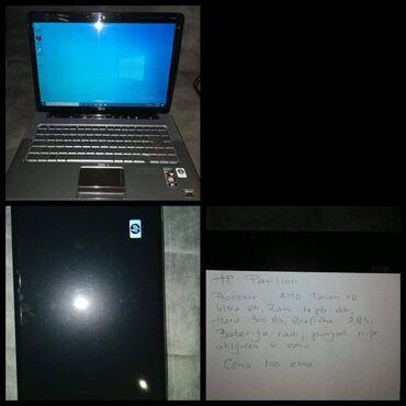 Ostali laptopovi i netbook računari   Srbija: HP Pavilion Entertaiment Win10, grafička kartica 2Gb, hard disk 300