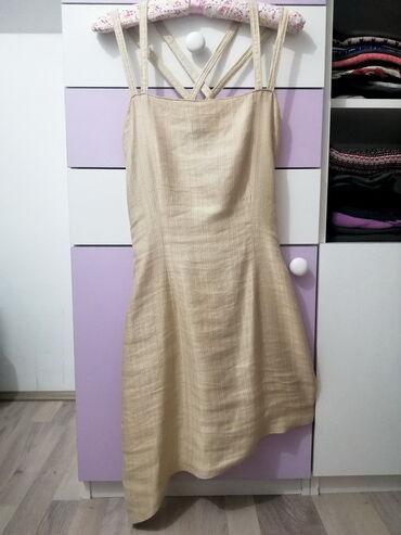 Asimetrična haljinica - vel. M!   Haljina je šivena po meri za svečani