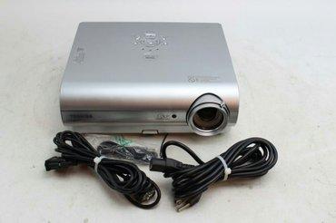 Продаю проектор Toshiba tdp-s35. В комплекте провода и чехол. Пользова в Бишкек