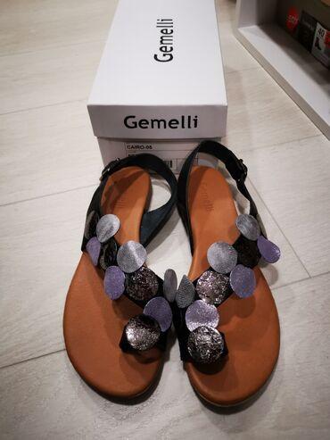 """Udobne, kožne sandaleSandale su kupljene u """"Butiku Bulevar"""""""