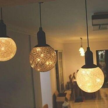 Kuća i bašta - Vladicin Han: Dostupno Veca led svetleca lampa,u sebi ima 10 led diodica, konopac je