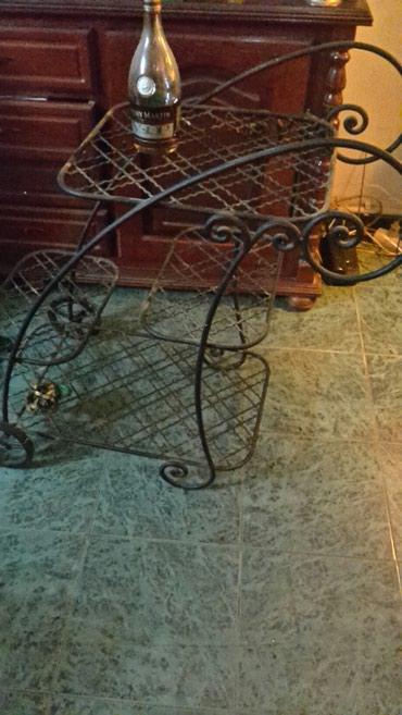 Ostalo za kuću | Nis: Barska kolica od kovanog gvozdja