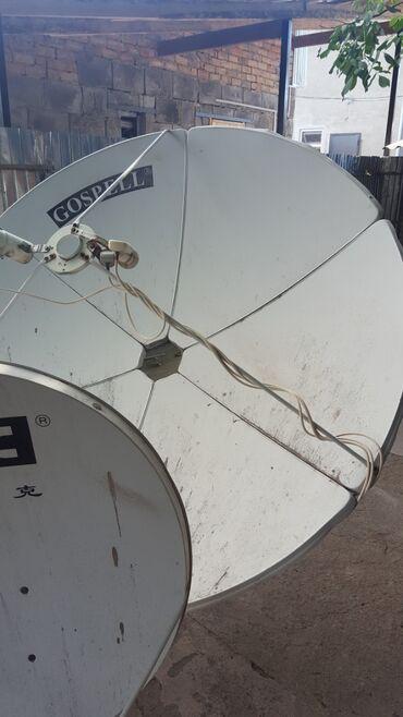 Спутниковая тарелка с ресивером