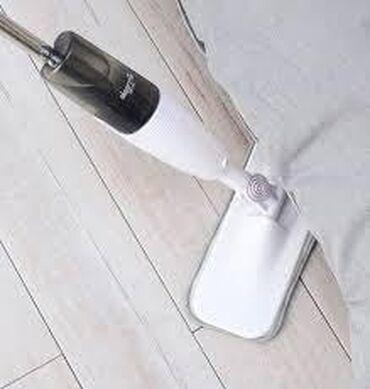 швабры и тряпки моп в Кыргызстан: Швабра с распылителем воды xiaomi deerma spray mop dem-tb500 главные х
