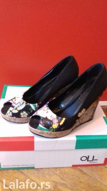 Potpuno nove, preslatke cipelice na platformu. Broj 36 mada odgovara - Novi Sad