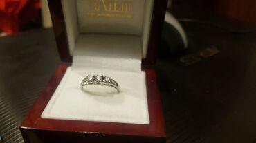 Кольцо с бриллиантом, белое золото, каратность 0, 37, покупали в Алтын