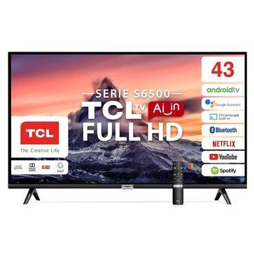 Телевизоры в Лебединовка: TCL 43 S6500 android  Гарантия 1 год  Наш адрес Проспект Чуй 50 пересе