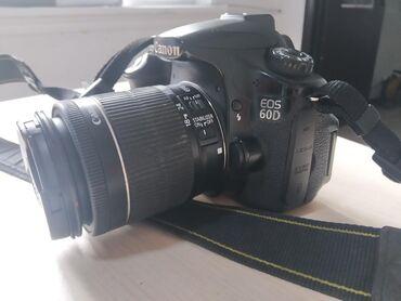 Canon 60D обектив 18-55 очень  хорошем состоянии