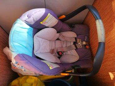 автокресло chicco 0 в Кыргызстан: Детское автокресло от chicco, брали в турции, б/у, цена 3500 сом, без