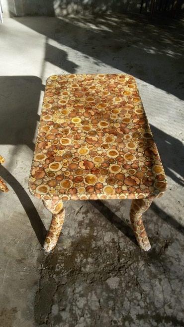 Ağstafa şəhərində Jurnalni stol ve balaca oturacaq sifrisle hazirlanir isteyen muraciet