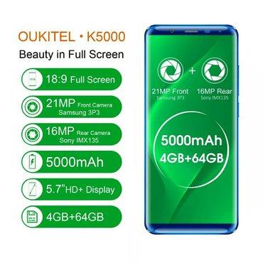iphone 5 gold - Azərbaycan: Oukitel k5000 telefonu(qara,goy,qizili reng)ram 4 gbyaddas 64