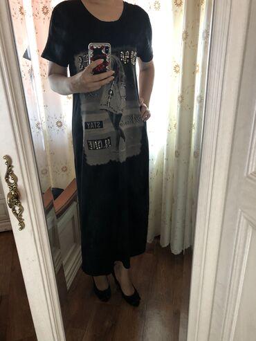 стильные-платья-по-супер-цене в Кыргызстан: Платье Свободного кроя Abercrombie Fitch L