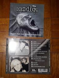 Omot za originalni cd prodigy music for the jilted generation - Belgrade